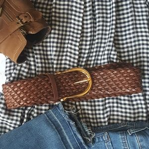 Michael kors Leather belt with keychain